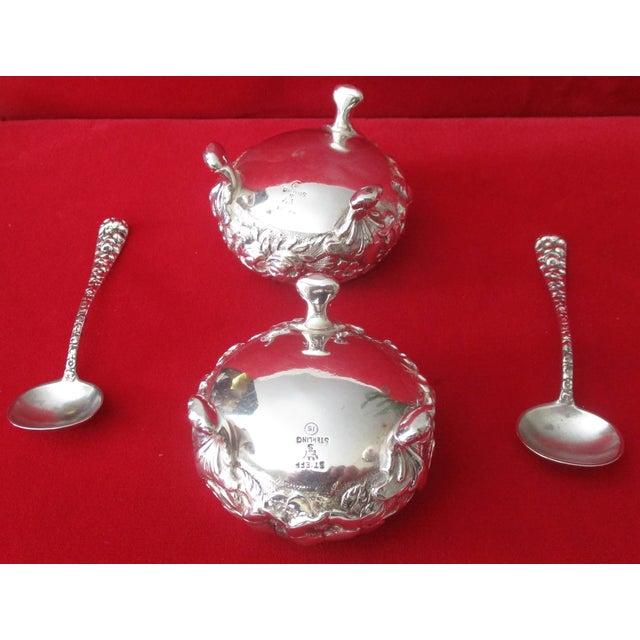 Stieff Rose-Pattern Salt & Pepper Set - Set of 4 - Image 11 of 11