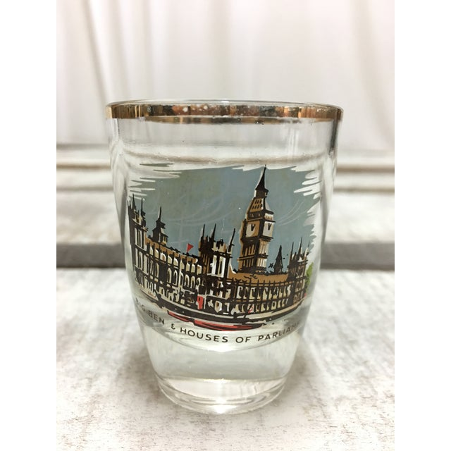 Mid-Century London Shot Glasses - Set of 4 - Image 5 of 8