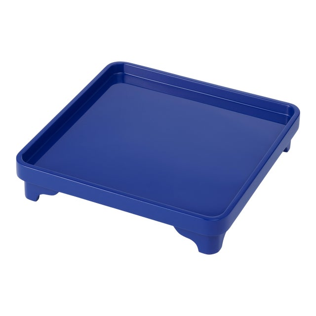 Chinese Riser in Cobalt Blue - Miles Redd for The Lacquer Company For Sale