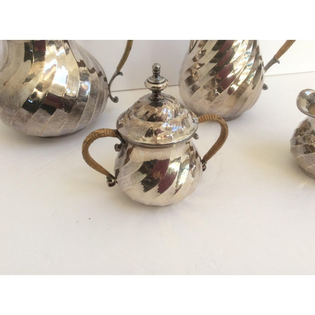 Purity Italian Silver Tea Service - Set of 4 - Image 5 of 11