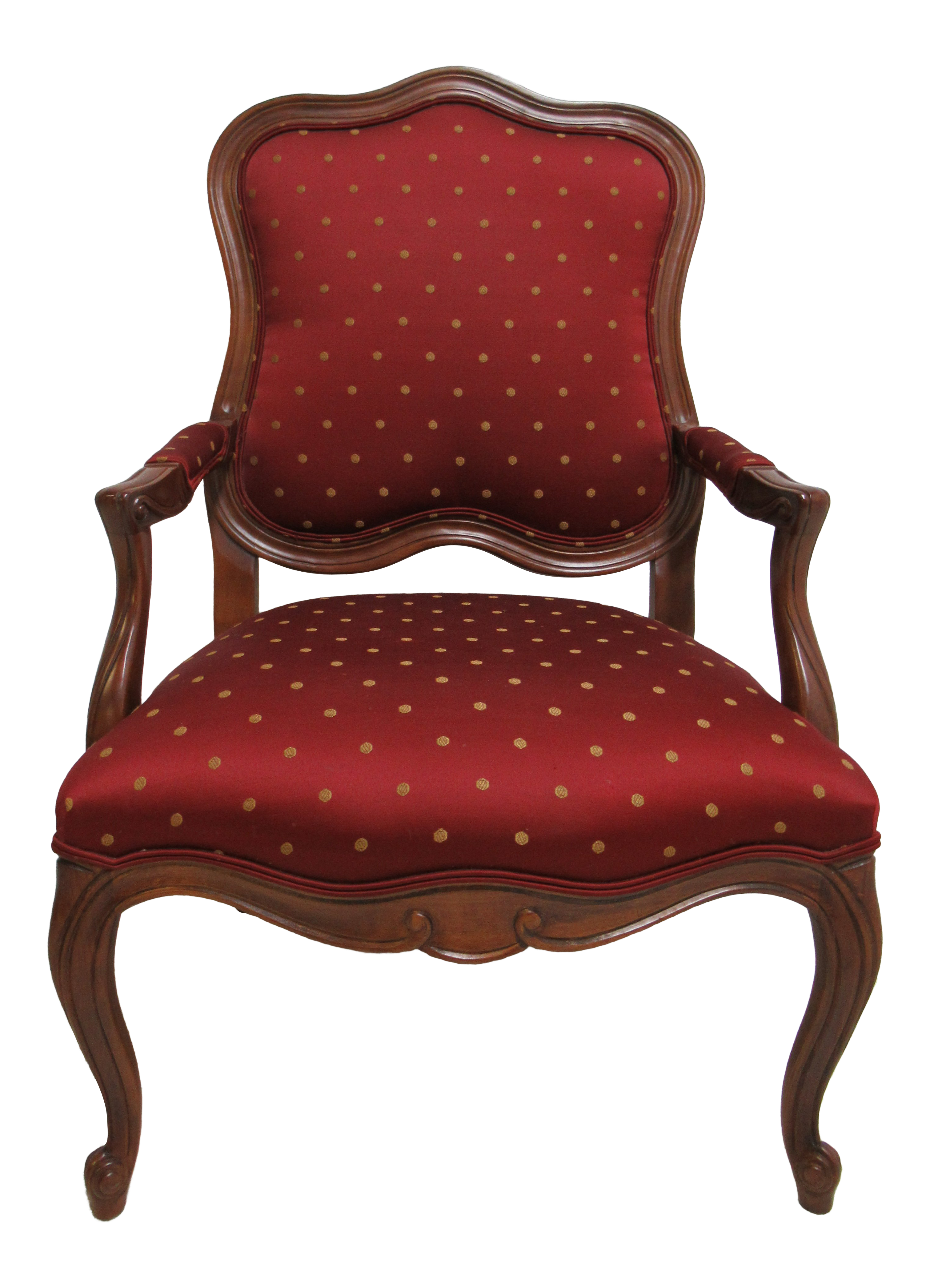 Ethan Allen Country French Lounge Living Room Chair
