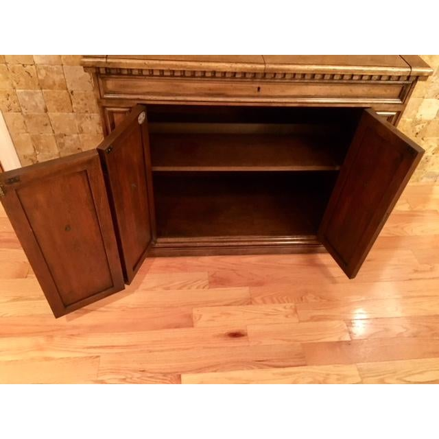 Traditional Baker Furniture Bar Cart For Sale - Image 3 of 11