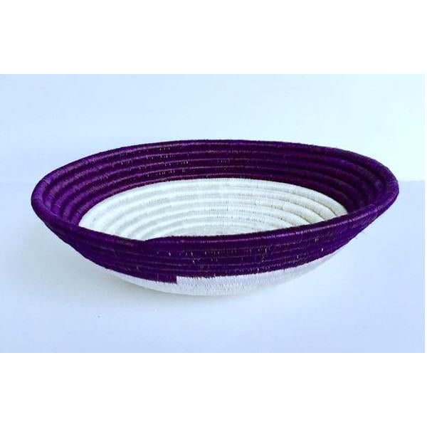 African Woven Basket - Image 3 of 5