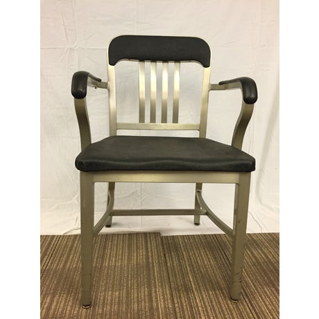 Vintage Goodform Mid-Century Aluminum Chair - Image 2 of 9