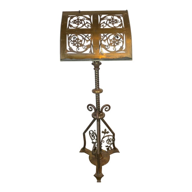 19th Century Brass Music Stand / Lectern For Sale