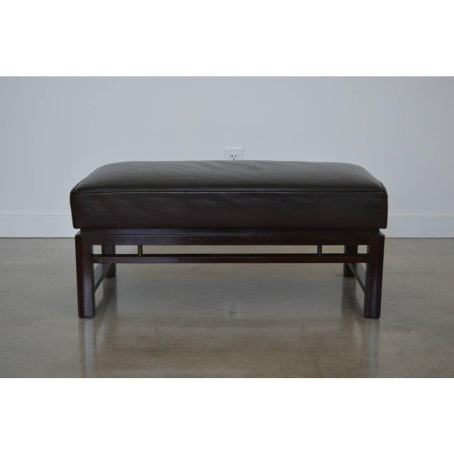 1940s Mid-Century Modern Edward Wormley for Dunbar Benches - a Pair For Sale - Image 5 of 12
