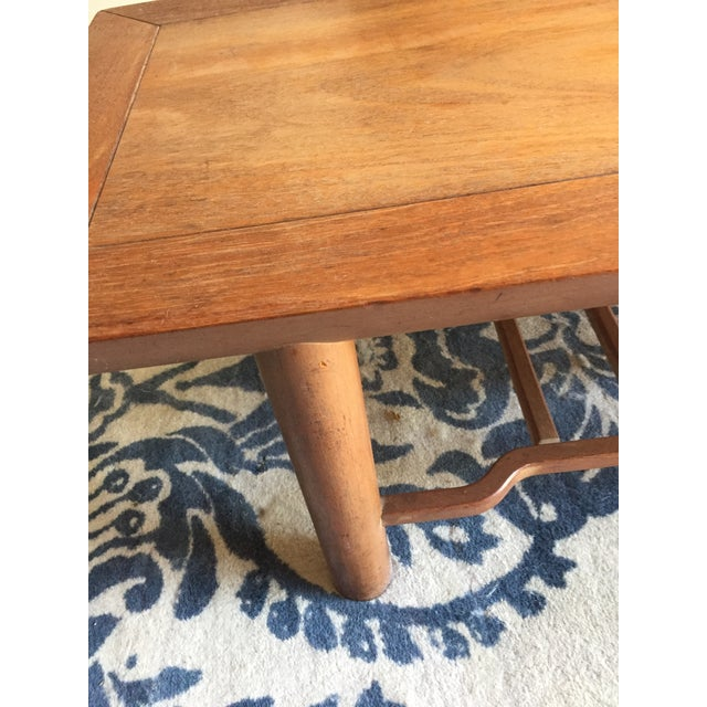 Heritage Henredon Mahogany Coffee Table For Sale In San Francisco - Image 6 of 12
