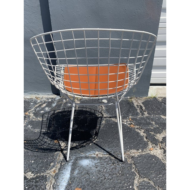 Vintage Mid Century Modern Dining Chairs by Harry Bertoia for Knoll - Set of 4 For Sale - Image 12 of 13