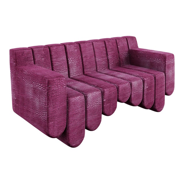 Sound Sofa by Artist Troy Smith - Contemporary Design - Custom Furniture - Limited Edition. Hand Made / Limited Edition /...