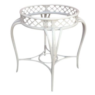 Vintage Hollywood Regency Quatrefoil Table Base