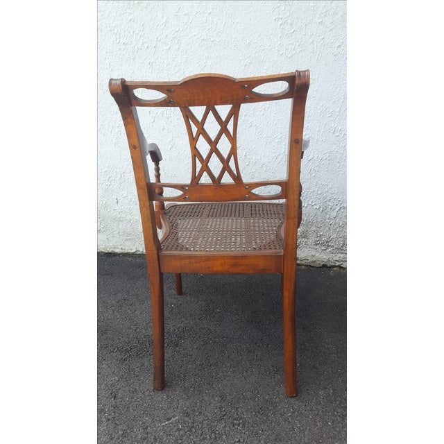 Cane Seat Armchairs - A Pair - Image 7 of 9