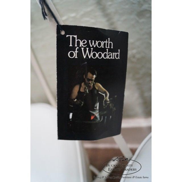 Woodard Vintage Metal Swivel Bar Stools - Set of 3 - Image 3 of 10