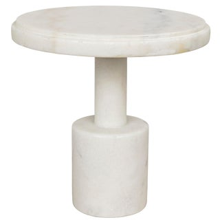 Plato Cake Tray, White Stone For Sale