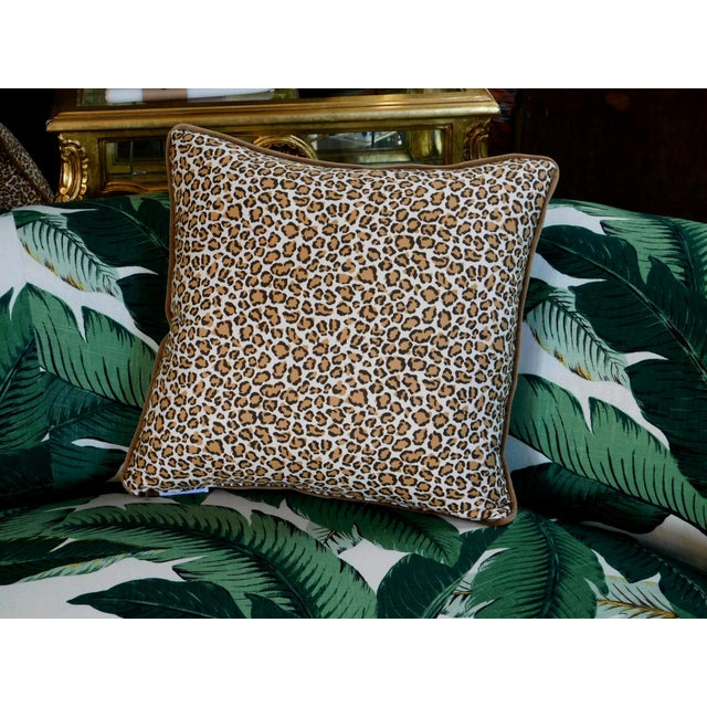 2020s Modern Cheetah Print Pillow For Sale - Image 5 of 6