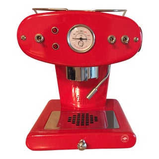 Ferrari Red Illy X1 Espresso Machine - Original and Out of Production! For Sale