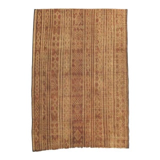 Vintage Mauritania African Mat For Sale