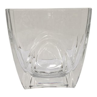 Crystal Vase Orrefors Sweden For Sale