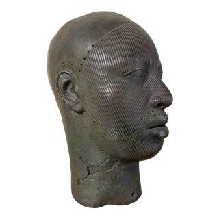 1973 Alva Museum Replica Statue of Head For Sale