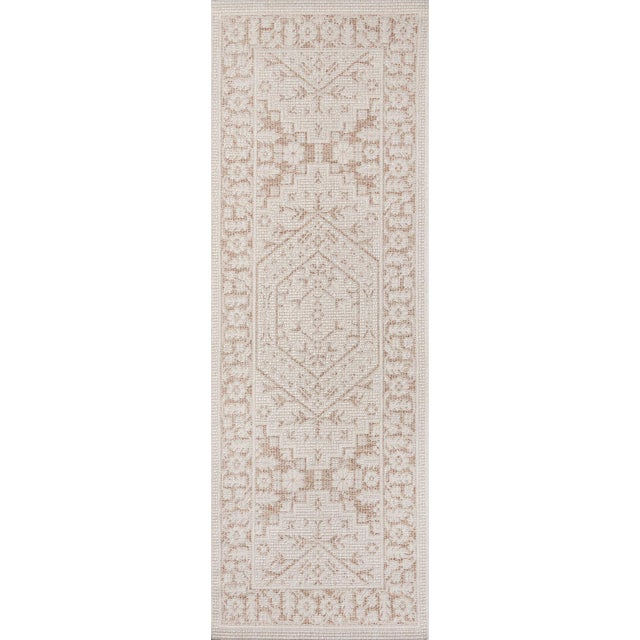 "2010s Erin Gates Downeast Brunswick Beige Machine Made Polypropylene Area Rug 6'7"" X 9'6"" For Sale - Image 5 of 10"