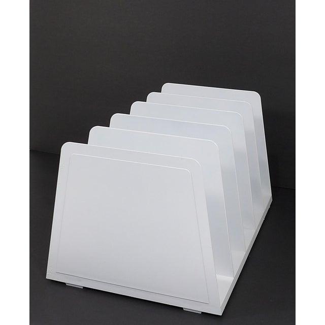 Modern 20th Century Modern White Plastic Office Desk File Sorter For Sale - Image 3 of 8