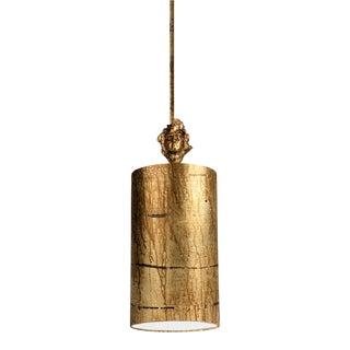Fragment Mini Pendant, Antiqued Gold For Sale