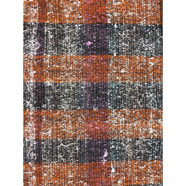 "Rug & Kilim Vintage Turkish Kilim Runner2'7'x18'6"" For Sale - Image 4 of 13"