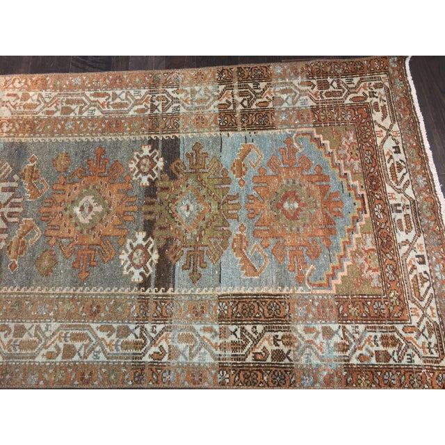 Antique Persian Malayer Runner - 2′10″ × 19′ - Image 3 of 11
