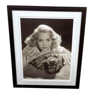 Vintage 2000 George Hurrell Jane Wyman Digital Photograph From 1938 Restored Negative For Sale