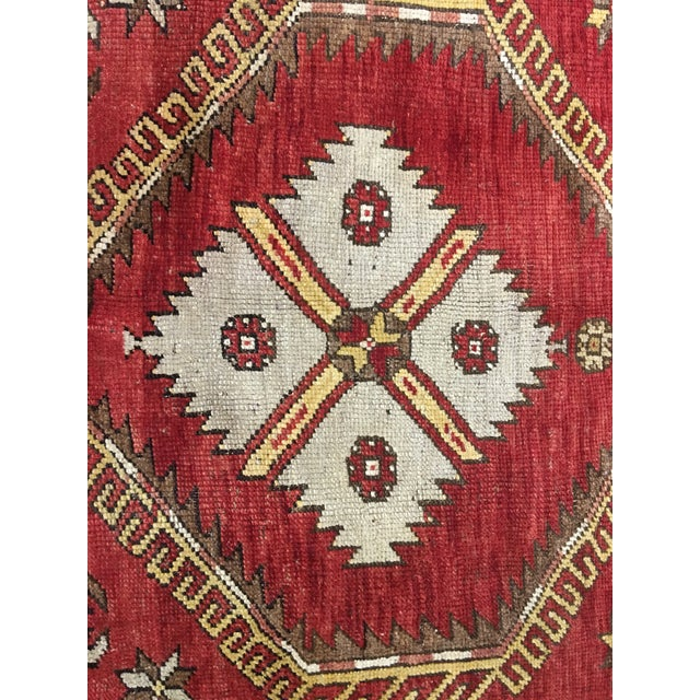 "Bellwether Rugs Vintage Turkish Oushak Runner - 5'x11'3"" - Image 4 of 8"