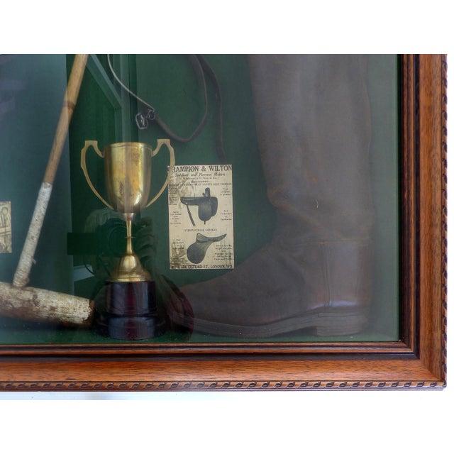Vintage Polo Memorabilia Shadow Box For Sale In Miami - Image 6 of 10
