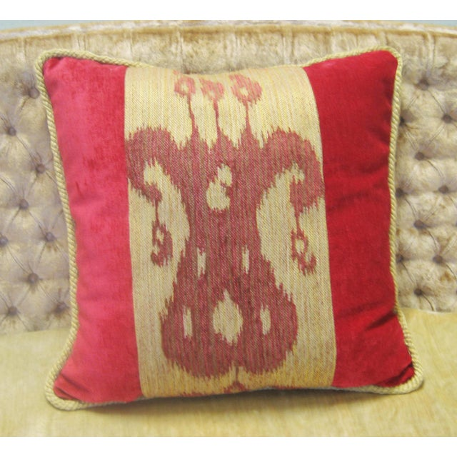 Boho Chic Kilim Pillow - Image 3 of 4