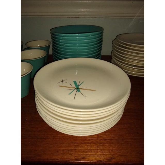 Mid-Century Modern Vintage Salem North Star Hop Scotch Dinnerware Service for 15 For Sale - Image 3 of 13