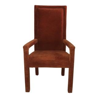 Valencia Velvet Milo Baughman Parsons Chair