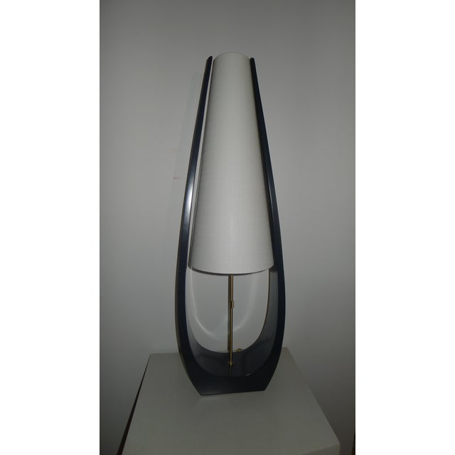 Wishbone Table Lamp by Paul Marra - Image 7 of 10