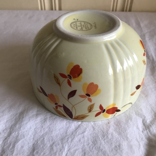 Vintage Hall Pottery Ceramic Bowl For Sale In Los Angeles - Image 6 of 7