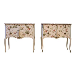 1900s Antique Bedside Tables - a Pair For Sale