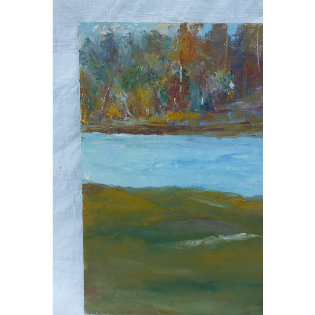 Abstract Impressionist Painting by h.l. Musgrave - Image 3 of 6