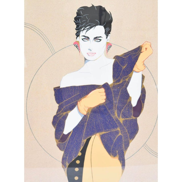 """Denise"" Serigraph by Steve Leal - Image 3 of 8"