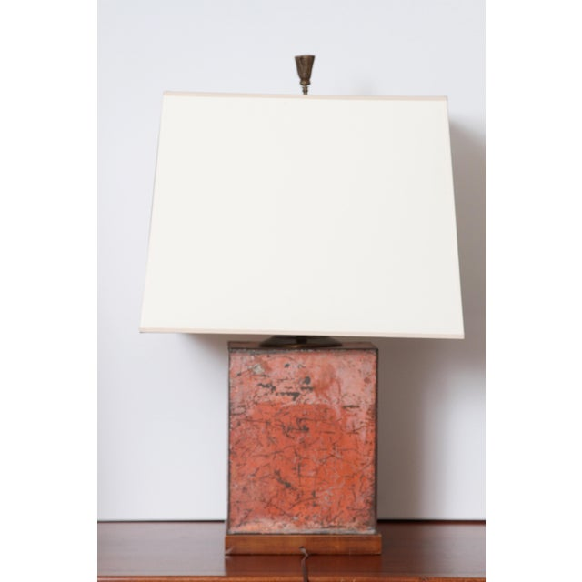 1970s Antique Fine Teas Table Lamp For Sale - Image 5 of 8