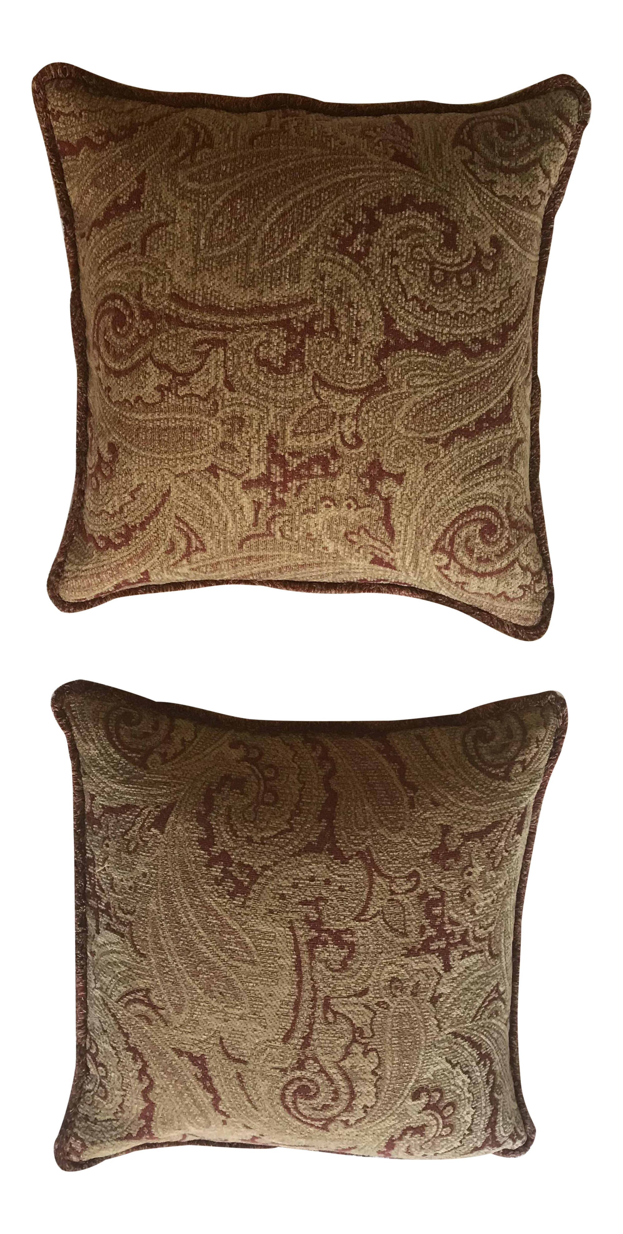 Restoration Hardware Pillow Covers   A Pair