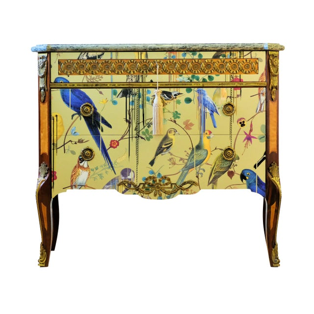Christian Lacroix Style Commodes - a Pair For Sale - Image 4 of 9