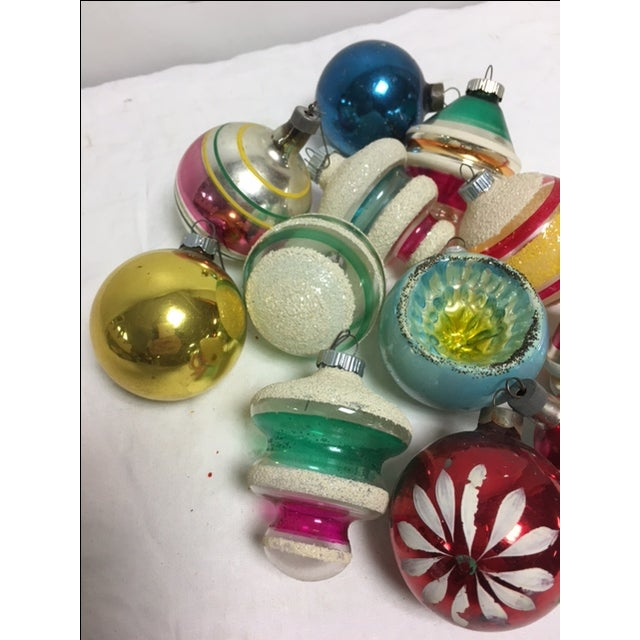 Vintage Assorted Christmas Ornaments - Set of 12 - Image 4 of 8