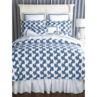 Newberry Duvet Cover Navy in Full For Sale