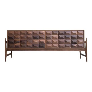 Mid Century Credenza Sideboard - Custom Made For Sale