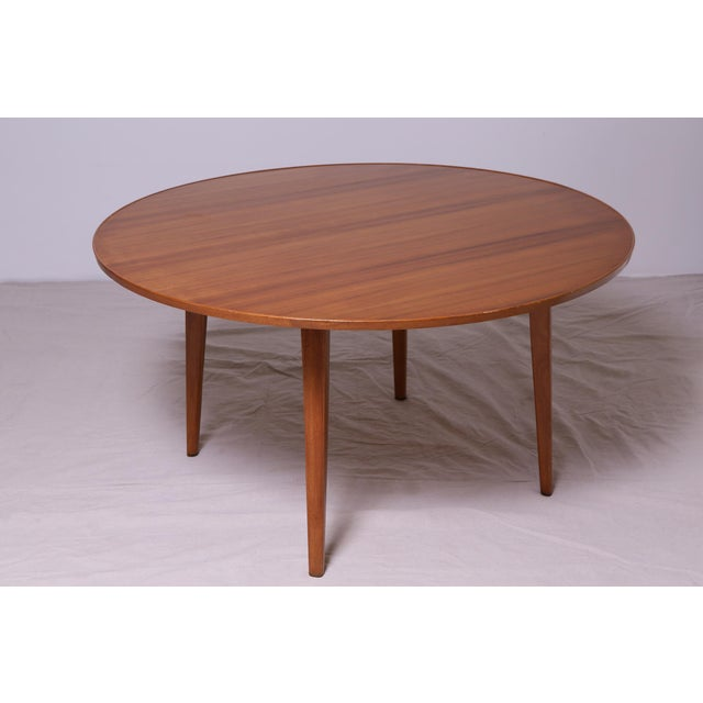 Bleached Mahogany Dining Table by Edward Wormley for Dunbar - Image 4 of 9