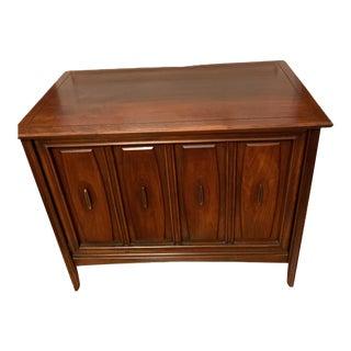 Vintage 1960's Mid-Century Modern t.v. Cabinet For Sale
