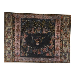 """Pichhavai"" Indian Temple Textile Art For Sale"