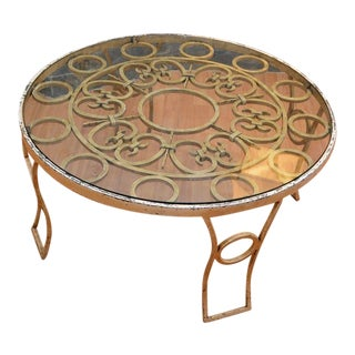 Talleres Chacón Round Coffee Table For Sale