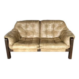 Mid-Century Modern Percival Lafer Style Sling Sofa Loveseat Couch