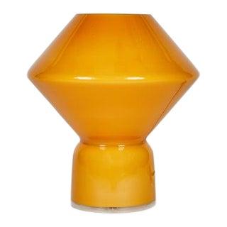 1980s Orange Memphis Style 'Conica' Table Lamp for Artemide For Sale